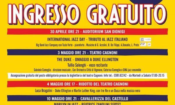 """Bob Mintzer, Tullio Solenghi, Emilio Soana, Jazz Company  e molti altri: dal 30 aprile al 18 maggio torna """"A Vigevano Jazz"""",  parata di stelle tra musica e spettacolo"""