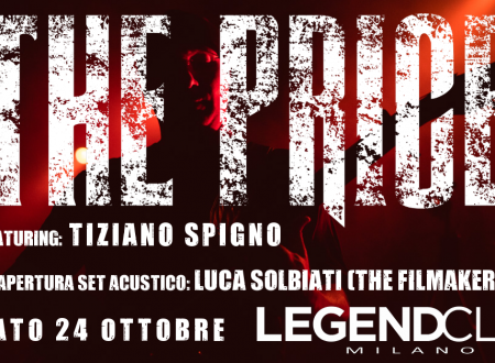 THE PRICE live al Legend Club di Milano