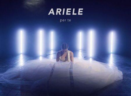 """Esce oggi in digitale e in radio """"Per te"""", singolo d'esordio della giovane cantautrice palermitana ARIELE."""