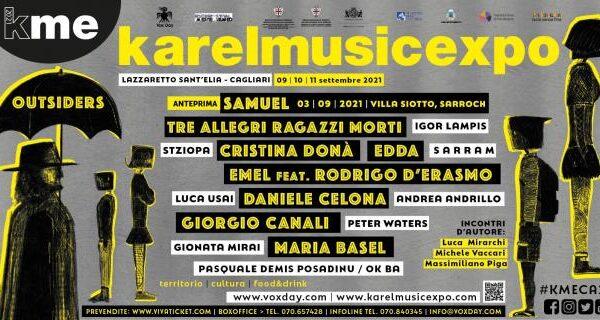 KAREL MUSIC EXPO: Dal 9 all'11 settembre torna a Cagliari il Festival delle culture resistenti. Il programma completo