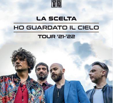 """""""HO GUARDATO IL CIELO""""  IL TOUR '21-'22  de  LA SCELTA  fa tappa il 2 ottobre al MEI 2021"""