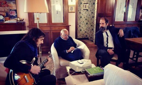 """LOMBROSO: """"Sentimento Rock"""" è il nuovo singolo del duo rock scritto da Mogol e musicato con Morgan. In radio dal 29 ottobre"""